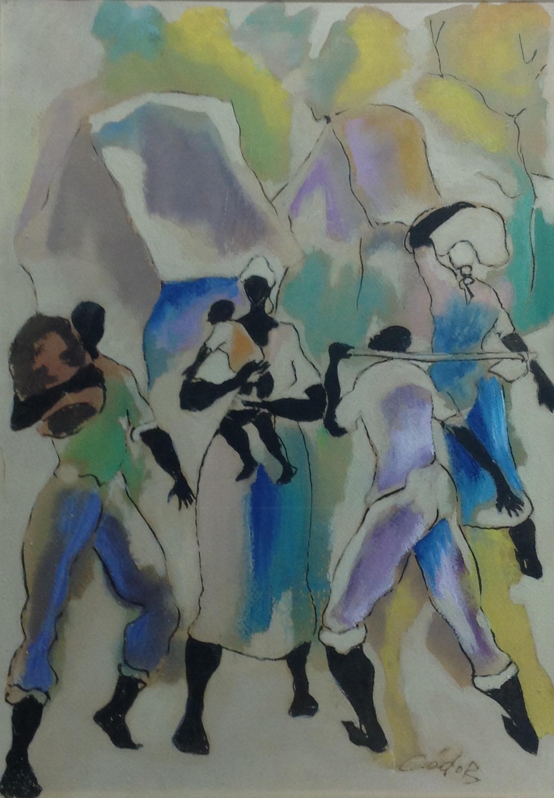 Dieudonne Cedor 10X14 #205-3-96 dessin