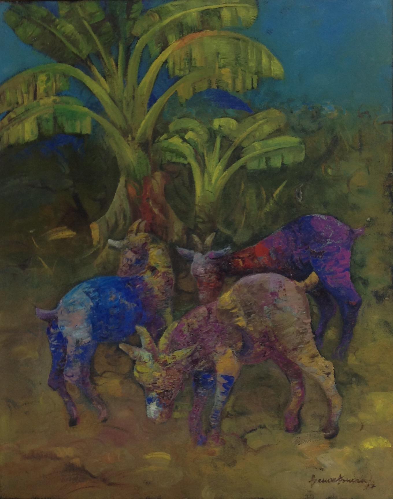 Armand Gesner 16X20 #79-3-96 canvas 1997