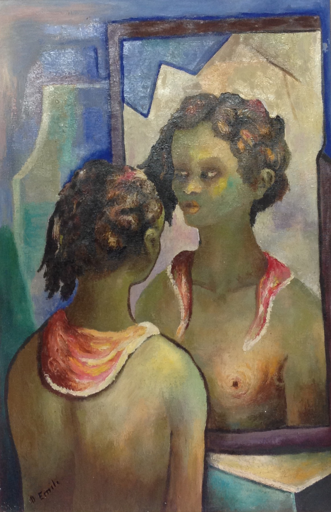 Emile Denis 30X20 #3-3-96 canvas 1964
