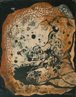 Croshen Henrique 10X8 Board Canvas 1978.