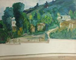 Dieudonne Cedor 24X30 #35-3-96 canvas