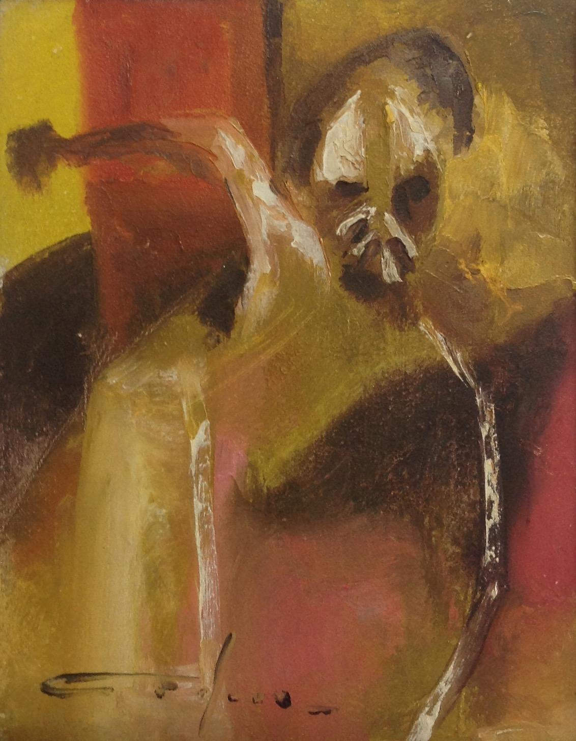 Dieudonne Cedor 8X10 #209-3-96 canvas 1973