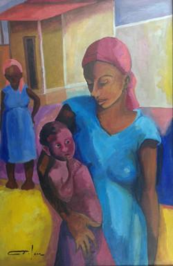 Dieudonne Cedor 24X36 #223-3-96 canvas