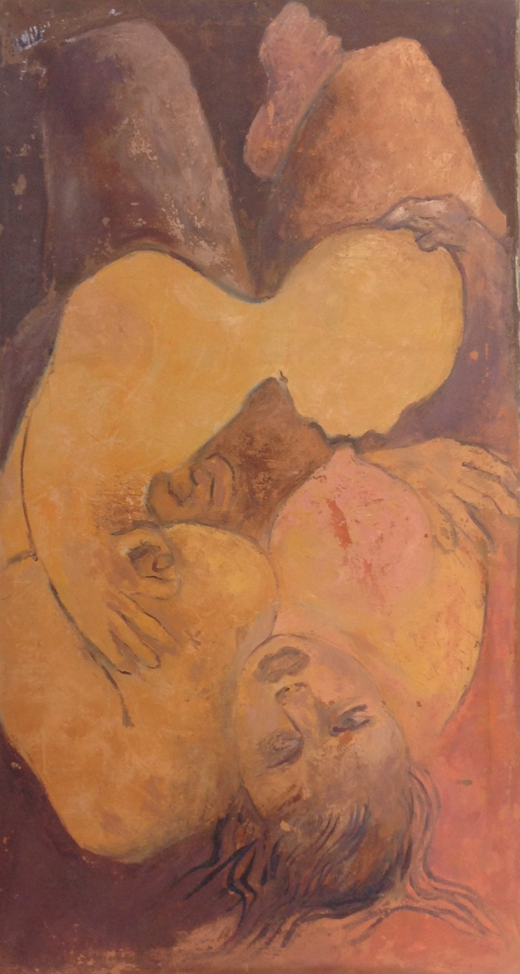 Desruisseau Rose Marie 20X36 #37-3-96 canvas