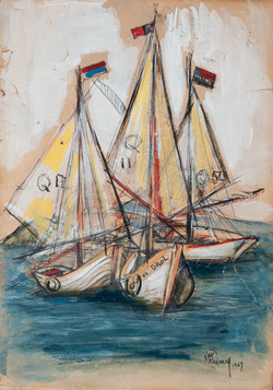 Jean Nehemy 13X9 #15-3-96 Dessin 1967
