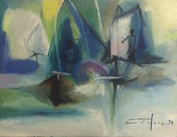 Dieudonne Cedor 12X16 #11-3-96 canvas 1973
