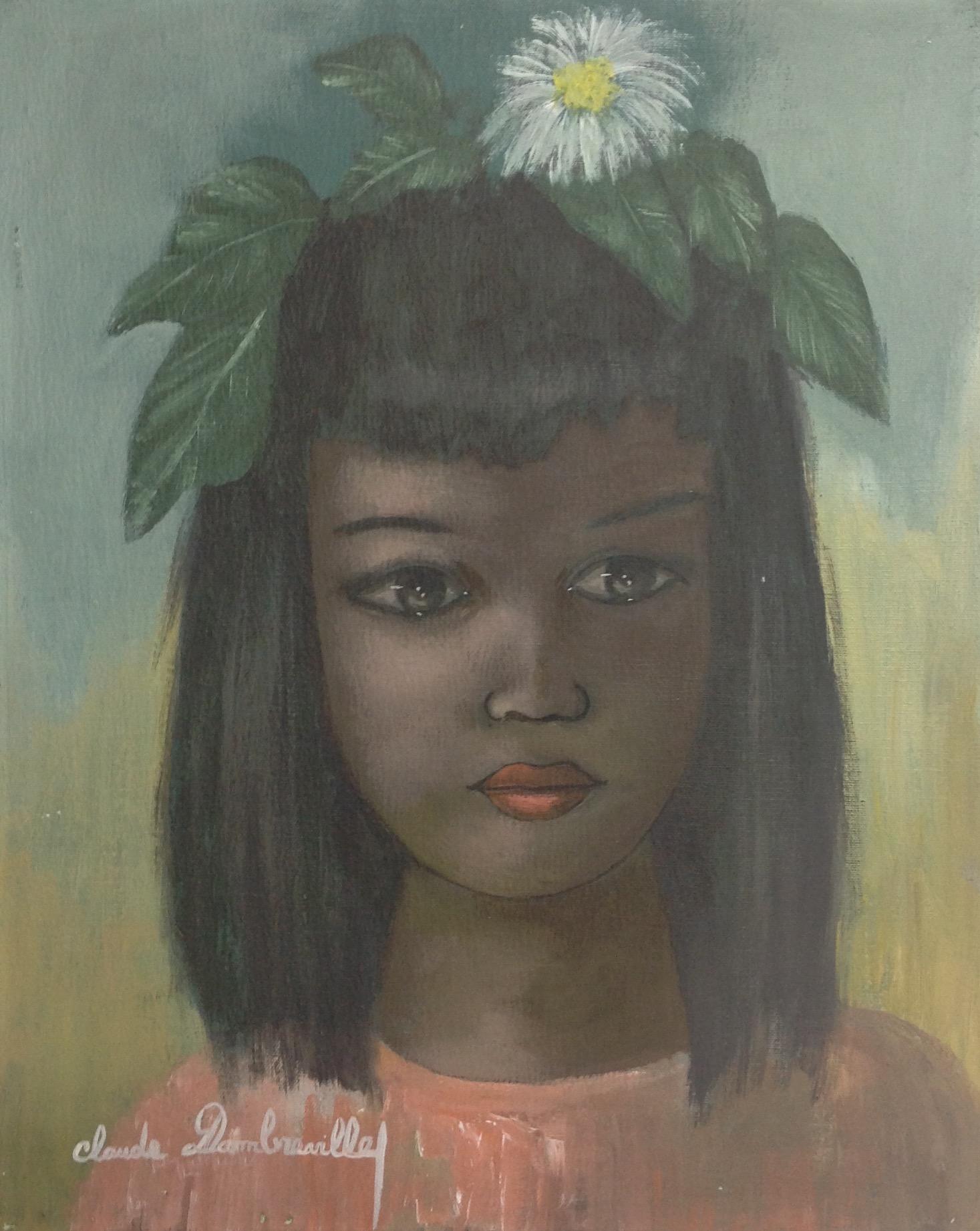 Dambreville Claude 16X20 #96-3-96 canvas