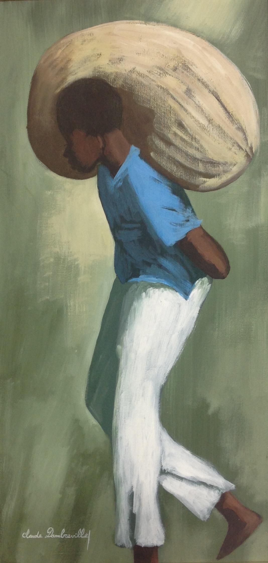 Dambreville Claude 15X30 #287-3-96 canvas 1999