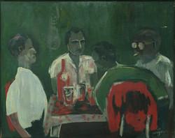 Jacques Harry 24X30 #61-3-96 Canvas 1972