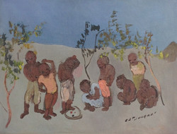 Jn Jacques Carlo 12X16 #109-3-96 canvas