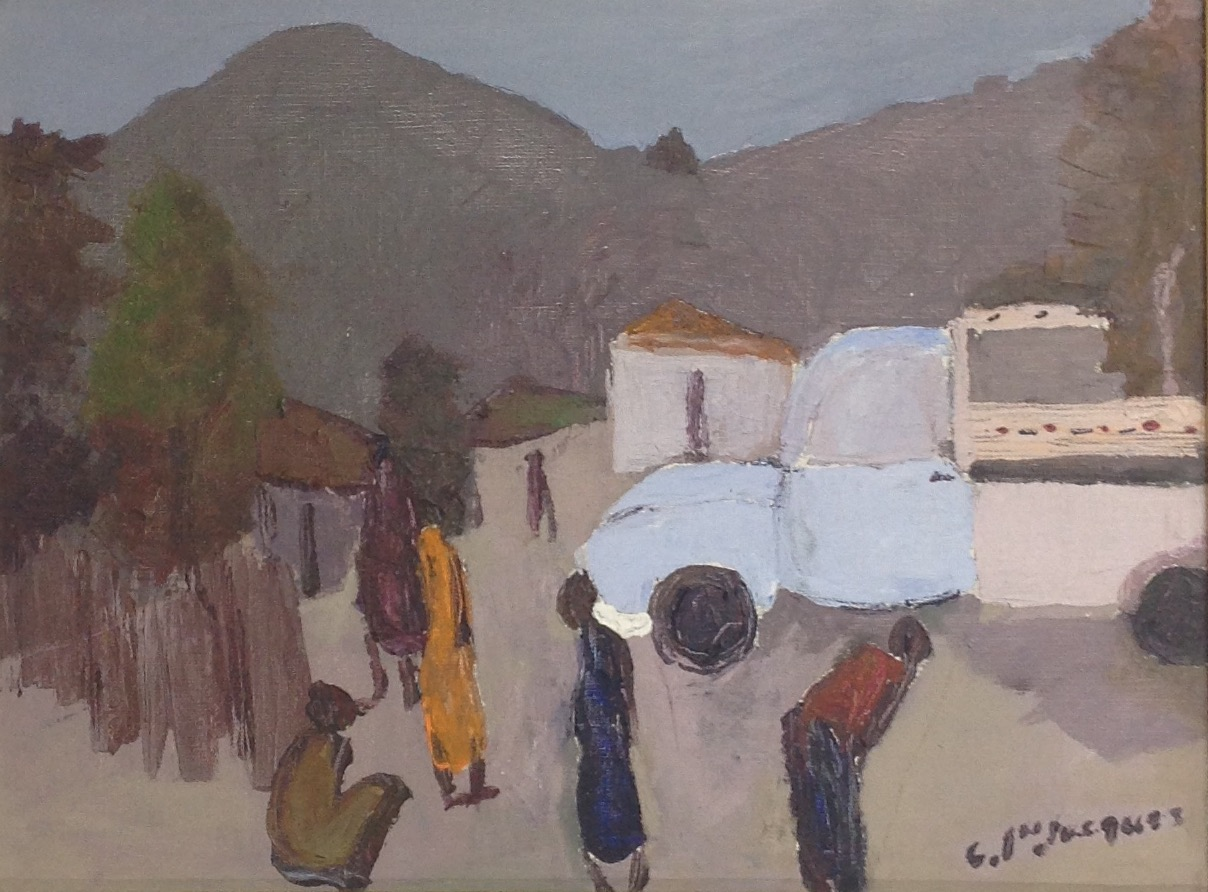 Jn Jacques Carlo 12X16 #70-3-96 canvas