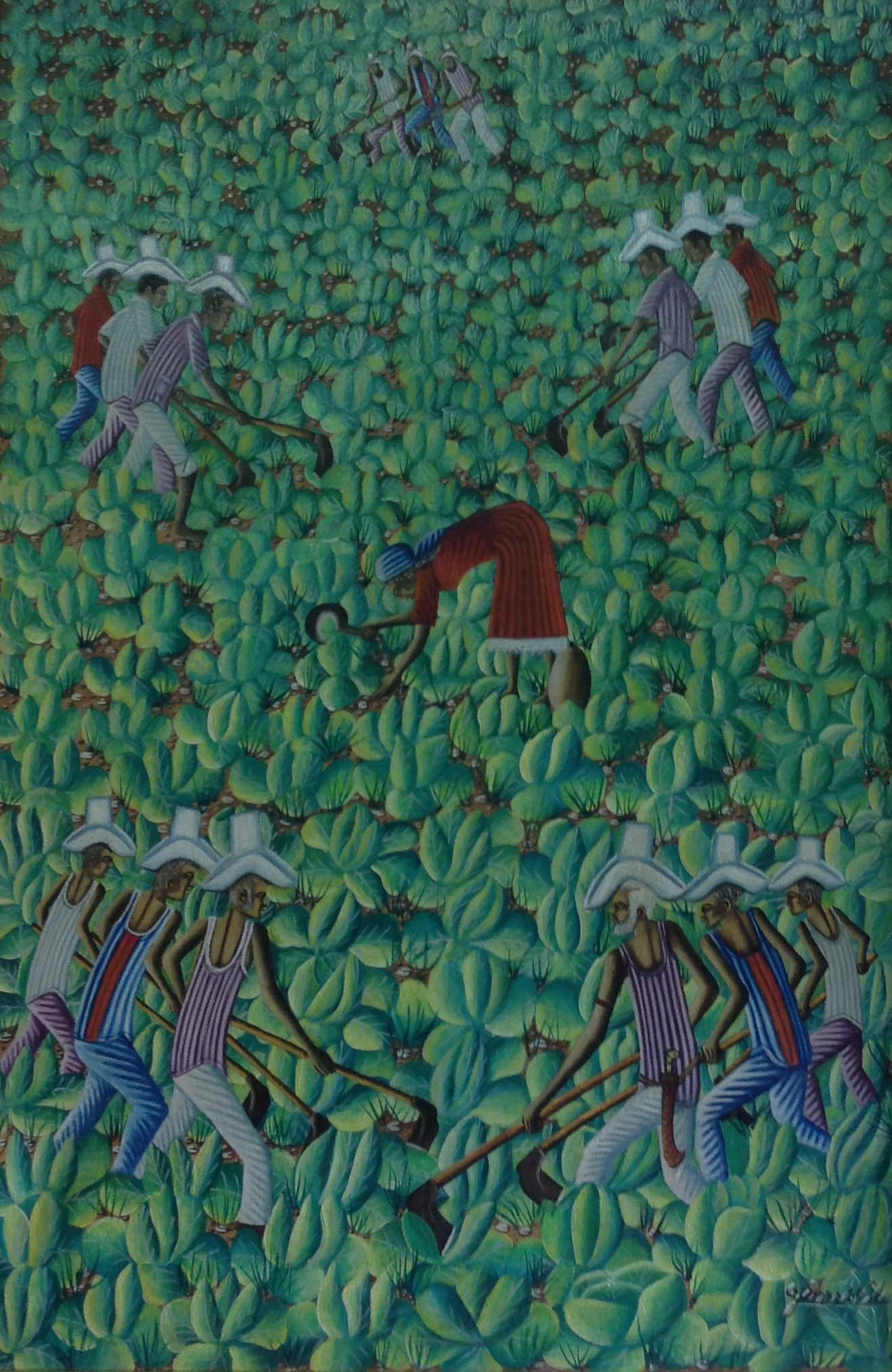 Valcin Gerard 36X24 #4-3-96 canvas 1980