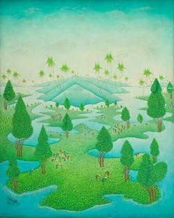 Paillan Remy 30X24 #25-3-96 Canvas 1984.