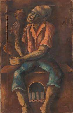 Obas Charles 20X12 #28-3-96 Canvas Circa