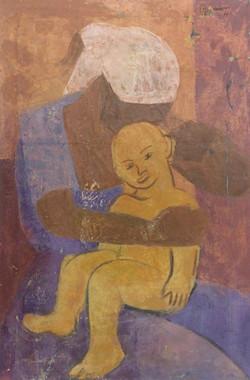 Desruisseau Rose Marie 20X30 #17-3-96 canvas