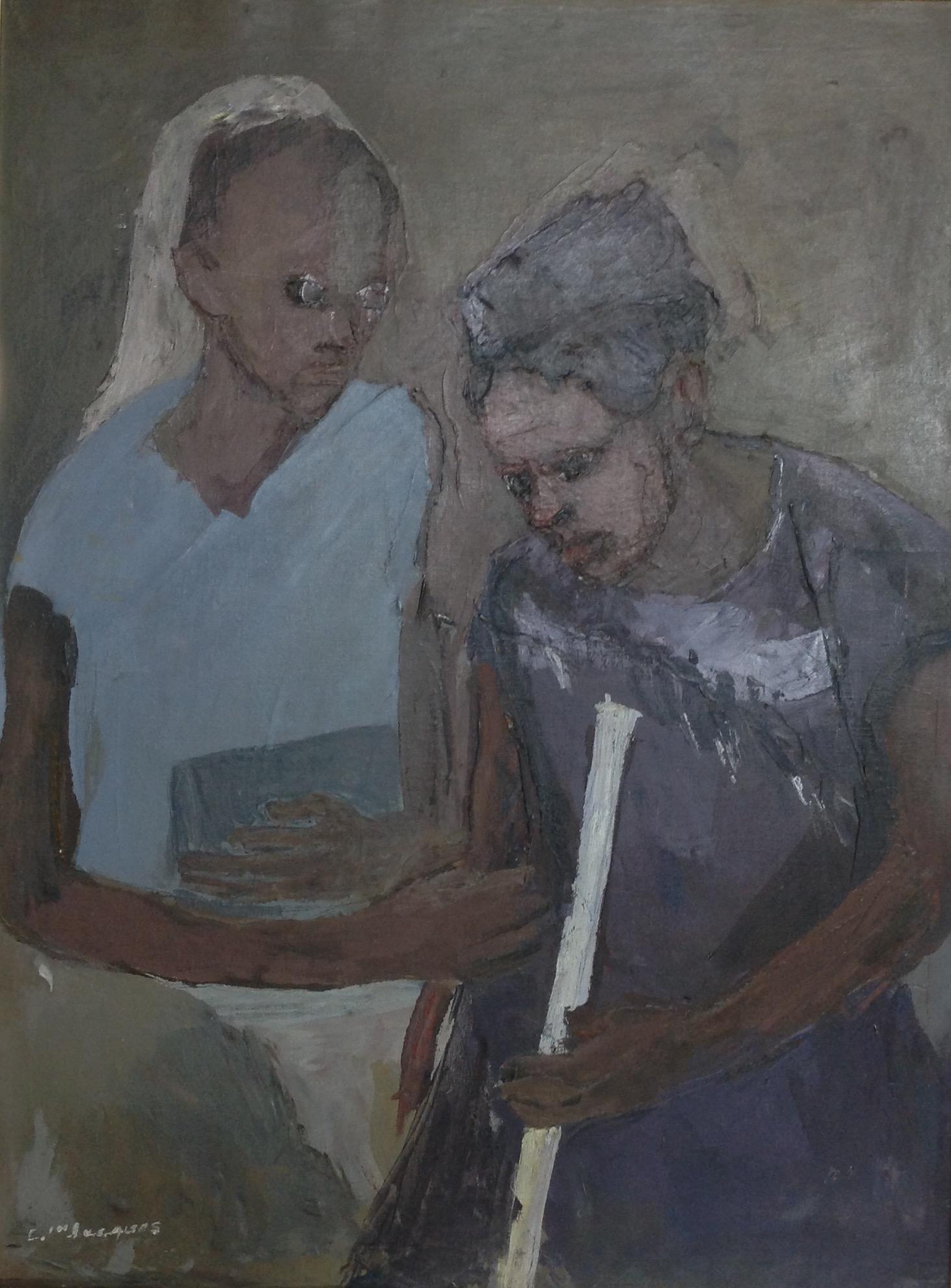 Jn Jacques Carlo 24X32 #106-3-96 canvas