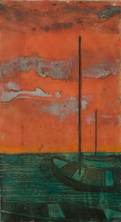 Tebo Sacha 24X13 #2-3-96 Canvas 1980
