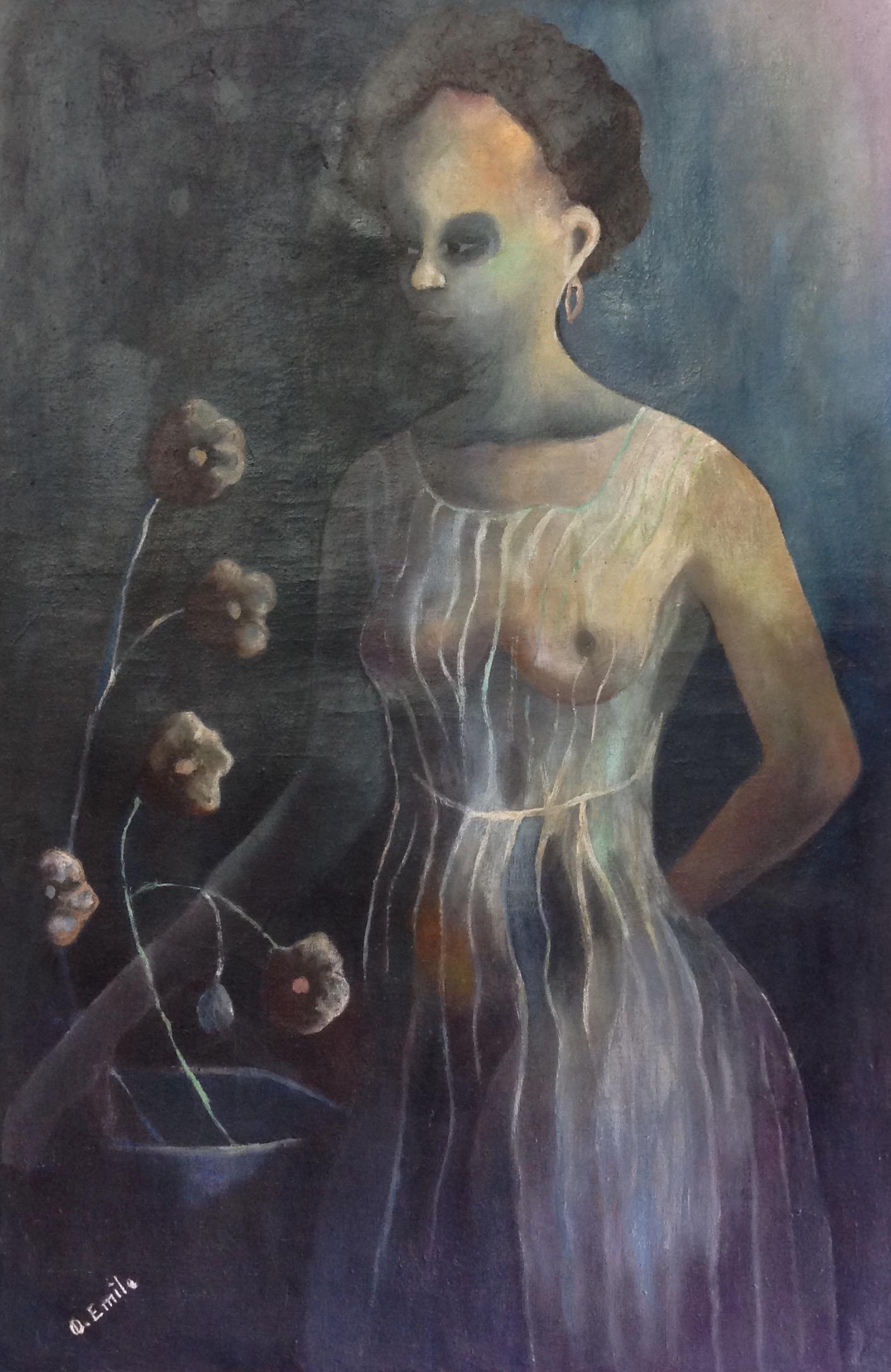 Emile Denis 36X24 #4-3-96 canvas