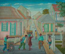 Pierrette Emmanuel 20X24 #1-2-95 Canvas