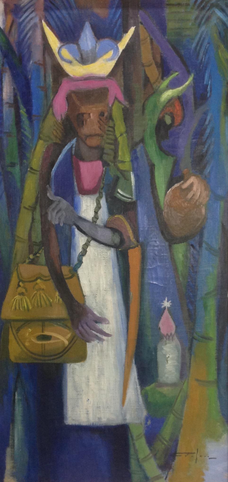 Dieudonne Cedor 20X40 #231-3-96 canvas