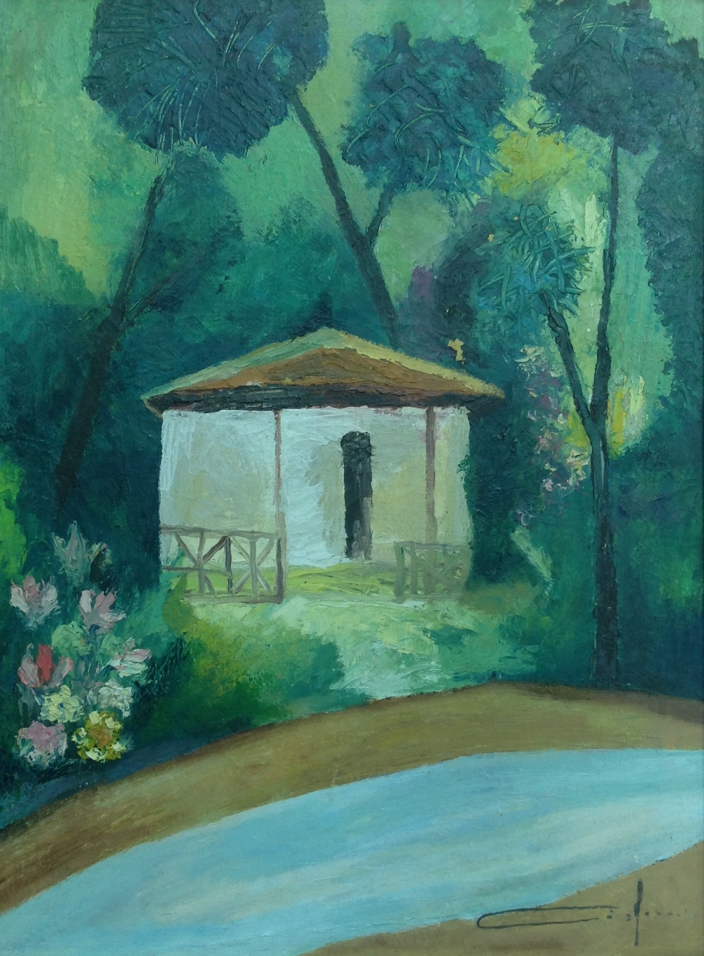 Dieudonne Cedor 12X16 #100-3-96 canvas