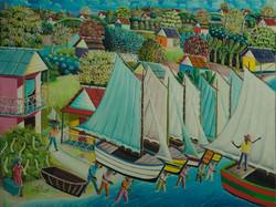 Bien-Aime Sylvain 30X40 #58-3-96 Canvas