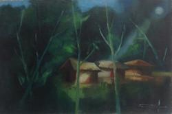 Dieudonne Cedor 16X24 #74-3-96 canvas 1982