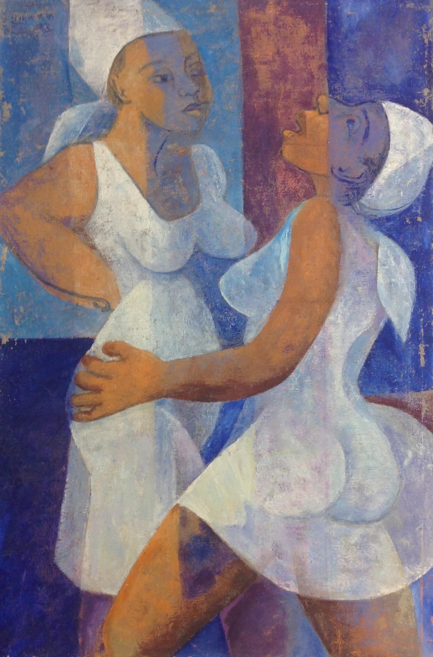 Desruisseau Rose Marie 24X36 #26-3-96 canvas