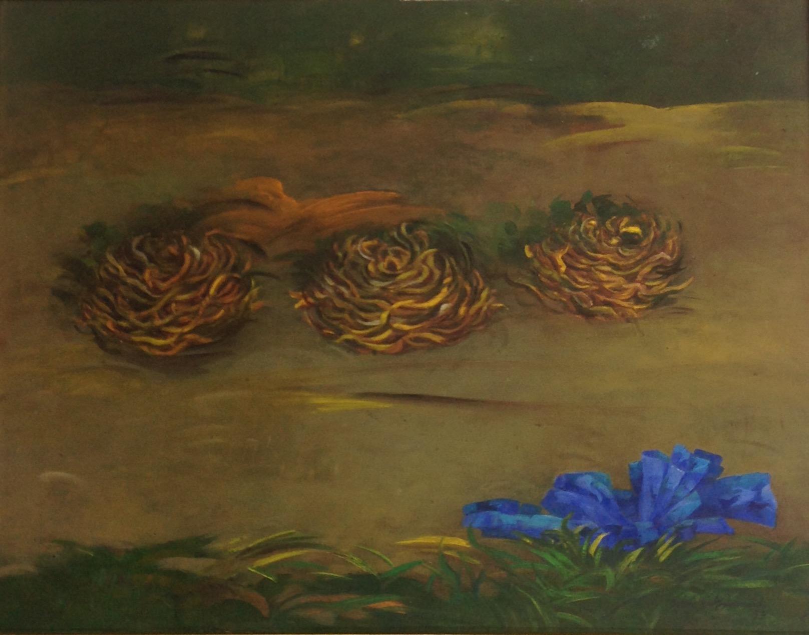 Armand Gesner 22X28 #35-3-96 canvas 1993