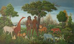 Blaise Fabolon 36X60 #1-3-96 Canvas Circ