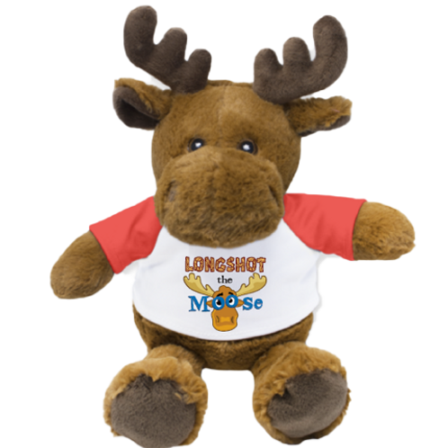 LONGSHOT the Moose Stuffed Animal