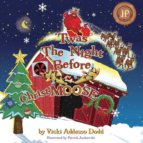 'Twas The Night Before ChristMOOSE