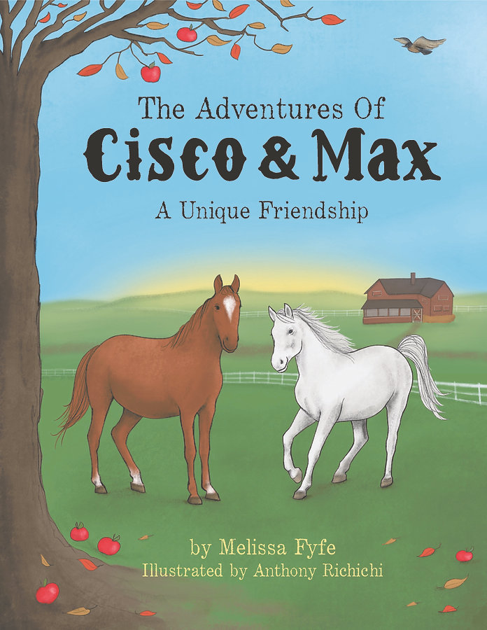 link to YouTube about Melissa Fyfe's book Cisco and Max