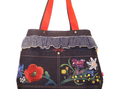 Levi's customised bags by local designers