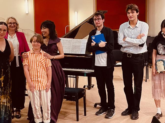 Masterclass avec Yumeki Ohashi à Paris France 4 septembre  2021