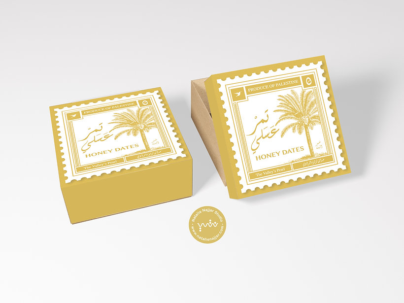 Free Packaging Craft Paper Gift Box Mock
