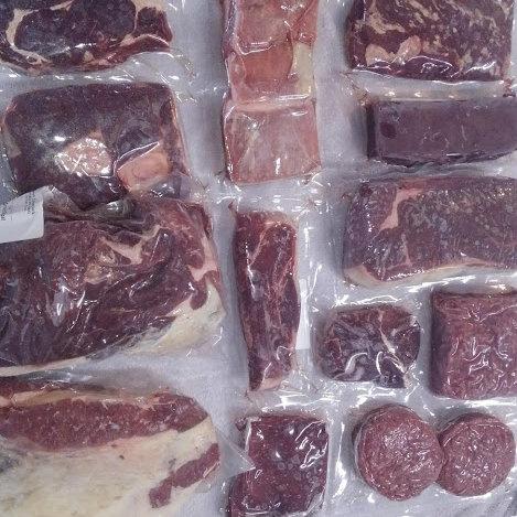 Quarter of a beef
