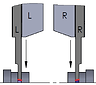 Indexable inserts for parting off