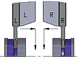 Indexable inserts for  turning and parting off