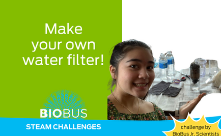 STEAM Challenge: Make your own water filter!