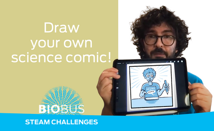 STEAM Challenge: Draw your own science comic!