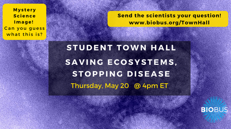 Student Town Hall: Saving Ecosystems, Stopping Disease: The One Health Initiative