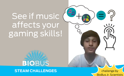 STEAM Challenge: See if music affects your gaming skills!