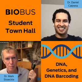 Student Town Hall: DNA, Genetics, and DNA Barcoding