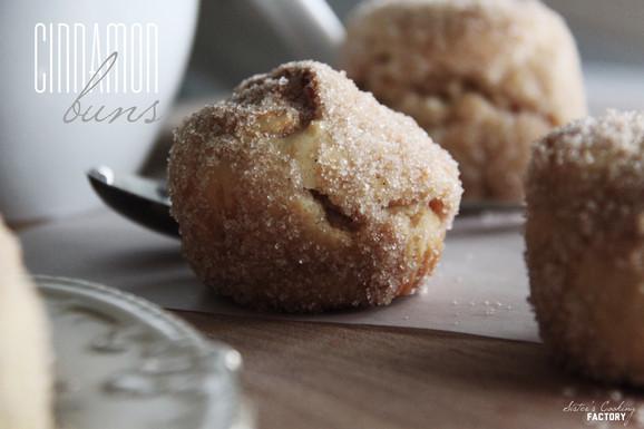 Kleine köstliche cinnamon buns