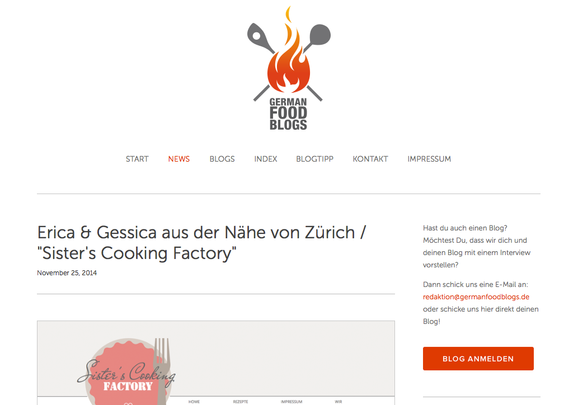 Interview mit germanfoodblogs