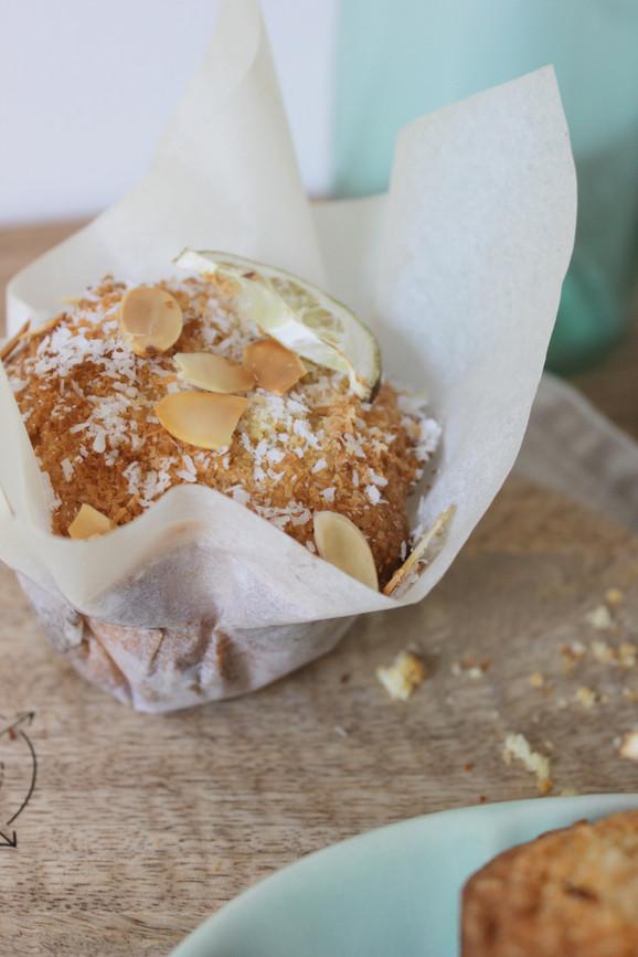 Polenta-Lime Muffins