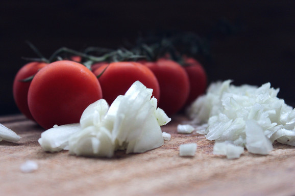 Artischocken-Risotto mit Cherry- und getrockneten Tomaten