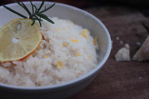 Zitronen-Risotto