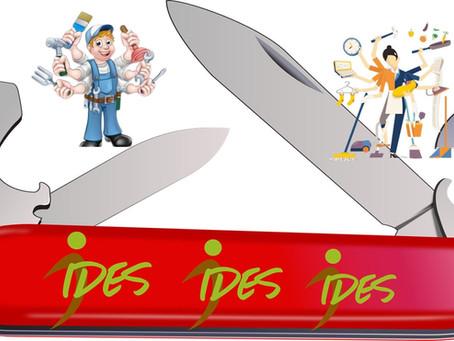 IDES cherche…des couteaux suisses !